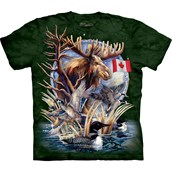 Canada Loon Collage T-shirt Adult
