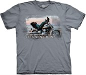Biker For Life t-shirt, Adult Small