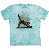 3 Leg Downward Sloth T-shirt