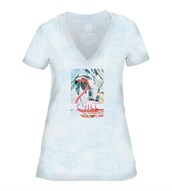 Chill Womens V-Neck, BLÅ