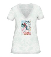 Chill Womens V-Neck, GRØN