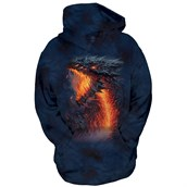 Lavaborn Dragon child hoodie