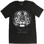 Tiger Save Our Species Mens Triblend T-shirt
