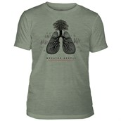 Breathe Deeply Mens Triblend T-shirt