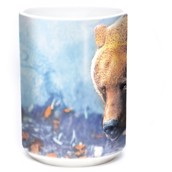 Foraging Bear Ceramic mug 4,4 dl.