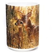 Golden Moment Deer Ceramic mug 4,4 dl.