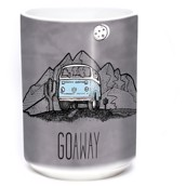 Go Away Van Ceramic mug