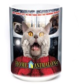 Home Alone Cat Ceramic mug