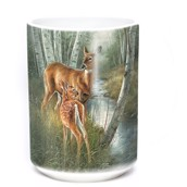 Birch Creek Whitetail Ceramic mug