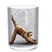 3 Legged Downward Sloth Ceramic mug