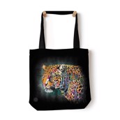 Painted Wolf Tote Bag