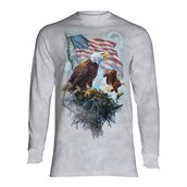 American Eagle Flag long sleeve