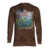 Biker Americana long sleeve