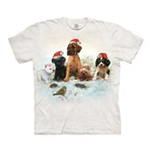 Christmas Pals t-shirt, Adult Large