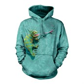 Climbing Chameleon adult hoodie