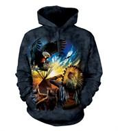 Eagle Prayer adult hoodie