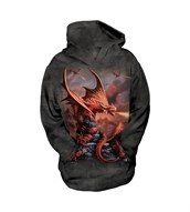 Fire Dragon child hoodie
