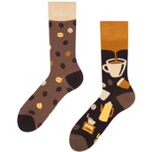 Good Mood adult bamboo socks - COFFEE BEANS