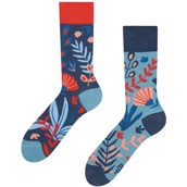 Good Mood adult bamboo socks - CORAL