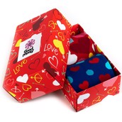 Good Mood adult socks - FULL OF LOVE GIFT BOX, 2 pairs