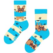 Good Mood kids socks - DOGS & STRIPES