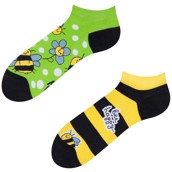 Good Mood adult low socks - BEE HAPPY