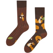 Good Mood adult socks - SQUIRRELS