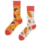 Good Mood adult socks - AUTUMN HEDGEHOG