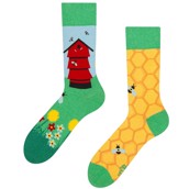 Good Mood adult socks - BEEHIVE