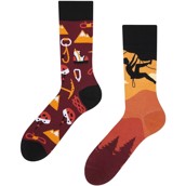 Good Mood adult socks - ROCK CLIMBING