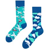 Good Mood adult socks - AIRPLANE/CLOUD