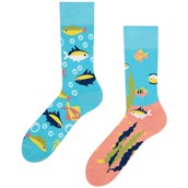 Good Mood adult socks - AQUARIUM