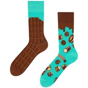 Good Mood adult socks - CHOCOLATE