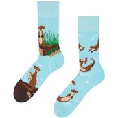 Good Mood adult socks - OTTERS