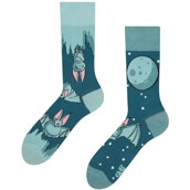 Good Mood adult socks - BATS IN THE NIGHT