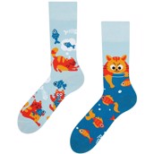 Good Mood adult socks - CAT & FISH