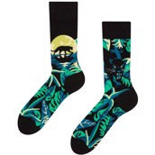 Good Mood adult socks - NIGHT PANTHER