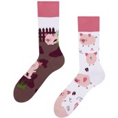 Good Mood adult socks - HAPPY PIGS