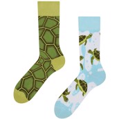 Good Mood adult socks - SEA TURTLES