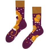 Good Mood adult socks - KING OF THE JUNGLE