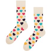 Good Mood adult socks - COLORFUL HEARTS