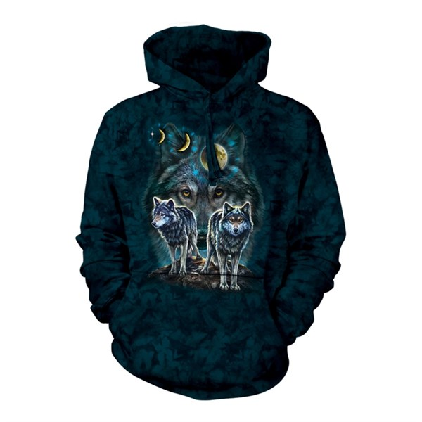 Nothstar Wolves adult hoodie, Small