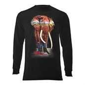 Painted Elephant long sleeve