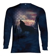 Patriotic Howl long sleeve
