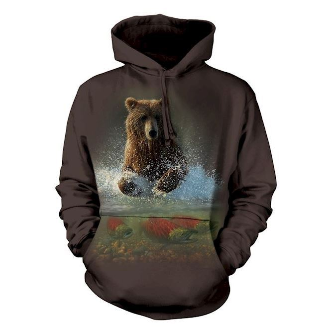 Lucky Fishing Hole Adult hoodie