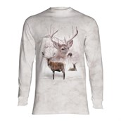 Wintertime Deer long sleeve