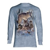 Wolf Family Mountain long sleeve