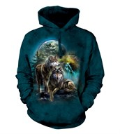 Wolf Lookout adult hoodie