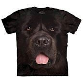 Big Face Newfie t-shirt