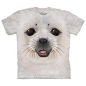 Big Face Baby Seal t-shirt